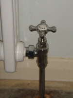 traditional radiator valve